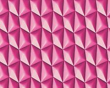 AS Creations 'Harmony in Motion' Wallpaper by Mac Stopa-Flutey Fuchsia