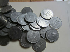 Roll of 1930 Canada Five Cents Coins. (Canadian 40 Nickel Coins, JAX)