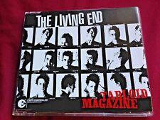 THE LIVING END - TABLOID MAGAZINE - CD SINGLE Rare
