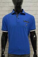 Polo Maglia Maglietta Blu Uomo PIERRE CARDIN Taglia Size XL Camicia Shirt Man