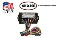 SHO-ME LED FLASHER - 4 OUTPUT - 14 FLASH PATTERNS - MADE IN USA