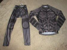 Women's Cycling Jersey & Pants set Padded Bike Uniform Size Large NWT