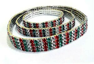 CHRISTMAS HOLIDAY Dog necklace collar SIZE M