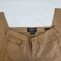 Women's Lucky Brand Jeans Charlie Skinny Ankle Low Rise Gold Membrane Size 8/29