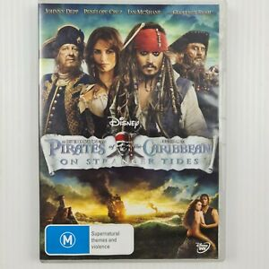 Pirates Of The Caribbean - On Stranger Tides DVD - Region 4 PAL - TRACKED POST