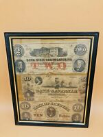 Collection of 3 Confederate & Obsolete Banknotes $2 & $10
