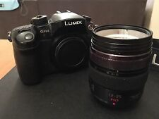 Panasonic  LUMIX DMC-GH4 16.1 MP Digital Camera - Black (Kit w/ 12-35mm Lens)