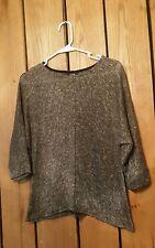 Womens Size PM Apt.9 Half Sleeve Sweater W / Metallic
