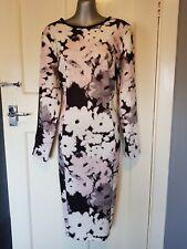 M&S Autograph Floral Midi Dress Size 14