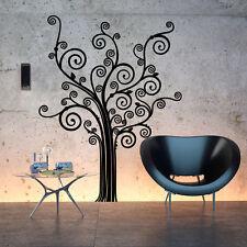 01363 Wall Stickers Sticker Adesivi Murali Albero con riccioli 100x130 cm