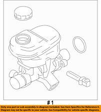 FORD OEM 15-17 F-150-Brake Master Cylinder GL3Z2140A