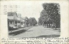 1901-1907 Printed Postcard; View of Nichols Street, Clearfield PA, Posted