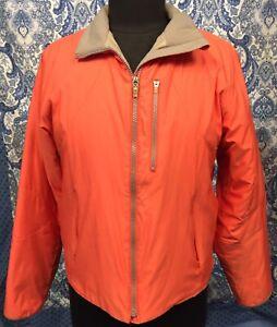OBERMEYER Women's Size 10 Orange Vented Ski Coat Jacket