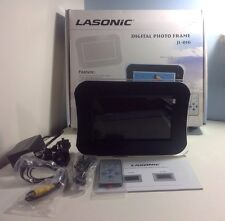 "NEW! Lasonic JL-016 7"" TFT LCD Digital Picture Frame Photo Viewer Remote Control"