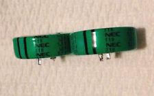 2 pcs NEC FYH 1.0 FARAD  5.5V  Disc Super Capacitor