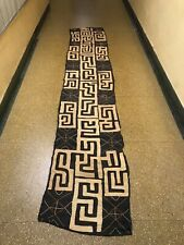 African Art 100% Authentic And Handwoven Kuba Cloth