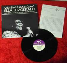 LP Ella Fitzgerald: The Best Is Yet To Come (Pablo 2312 138) US 1982