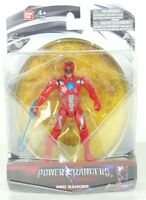 Power Rangers RED RANGER Action Hero Figure NEW Mighty Morphin Movie Toy 2017