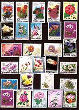 COREE  Fleurs : Roses et fleurs d'ornement 369T6