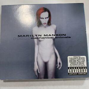 Marilyn Manson - Mechanical Animals CD 1998 Interscope - SLIPCASE W/ BLUE CASE