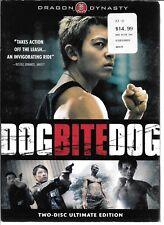 Dragon Dynasty, DOG BITE DOG, 2006 Drama/Crime/Martial Arts Film USED DVD
