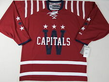 New Reebok Washington Capitals NHL Winter Classic Hockey Player Jersey Medium M