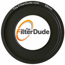 FilterDude 58mm LEE Compatible Wide Angle Adapter Ring for Filter Holder