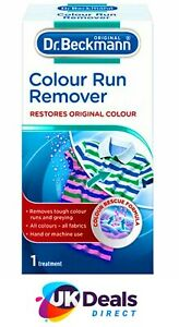 COLOUR RUN REMOVER  REMOVE UNWANTED COLOUR MIX WASH LEAK STAIN BY DR BECKMANN