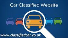 Website domain for sale classifiedcar.co.uk / car / vehicle / classified