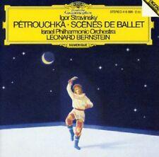 CD Igor Stravinsky Leonard Bernstein  Petrouchka Scenes de Ballet
