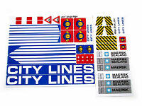 STICKERS CUSTOM for LEGO 7994 City Harbor BUILDS, Models, Toys, Etc