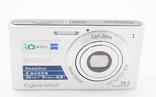 SONY CYBERSHOT DSC-W320 14.1MP 4x ZOOM DIGITAL CAMERA - SILVER