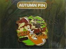 CHIP & DALE M&P FOUR SEASONS AUTUMN COLLECTION 2003 LE 2000 JAPAN DISNEY Pin