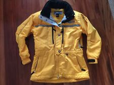Obermeyer Girls Ski Jacket.  Size Large ( 13 ).  Many pockets and hidden hood.