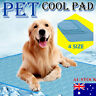 AU Post Pet Cooling Gel Mat Dog Cat Bed Non-Toxic Cool Dog Summer Pad Dog Bed