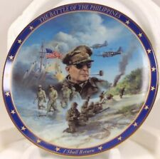 World War ll: A Remembrance Battle Of The Philippines Plate - Patriotic, 1994