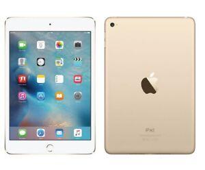 Dummy Display 1:1 Non Working  iPad Mini 4 White Gold Toy Fake  Tablet