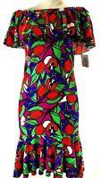 LuLaRoe  Cici Ruffle Dress Size XS Extra Small NWT