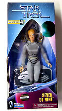 "Star Trek Seven of Nine Action 9"" Figure Playmates 1998 New 7 of 9 Jeri Ryan"