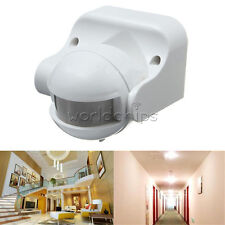 180 Degree Lighting PIR Motion Movement Sensor Detector Meter Switch Outdoor