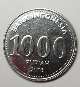 Indonesia 1000 Rupiah 2016 UNC