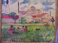 Painting from Cooper 1946...Working in the Fields