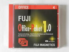 PC CD-ROM Fuji Office Paket 1.0 Textverarbeitung Tabellenkalkulation Windows 3.1