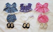 My Child Doll Clothing Lot 3 Outfits Replica Party Dresses Panties Shoes Cute!