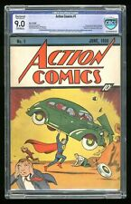 Action Comics (DC) #1 1938 CBCS 9.0 RESTORED