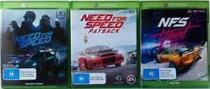 Need For Speed, Need For Speed Payback and NFS Heat Game Bundle Xbox One