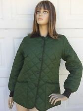Women's BARBOUR Olive green  Quilted Jacket, Size Large
