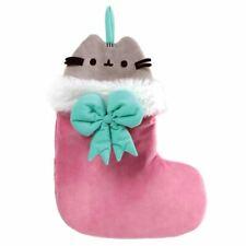Pusheen Plush Festive Christmas Xmas Novelty Stocking - Retro Decorations