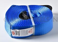 "3"" 26000 lbs Tow Snatch Strap 30 ft winch tree saver protector off-road snatch"