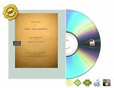 The Codex Alexandrinus Book On CDROM For PC/MAC Android iPad